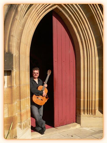 David Fryatt in Church